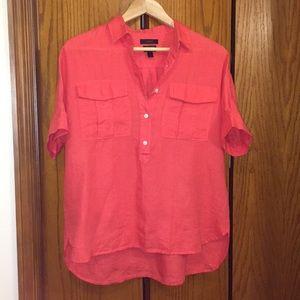 🆕 J. Crew Irish Linen blouse